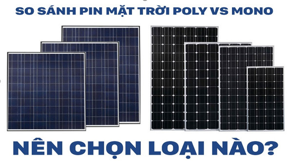 Lắp đặt PIN mặt trời loại nào tốt